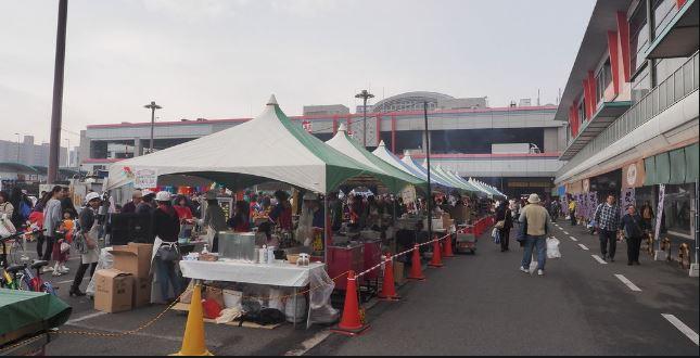 大阪市中央卸売市場 カニ