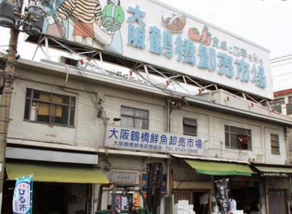 鶴橋鮮魚市場 カニ