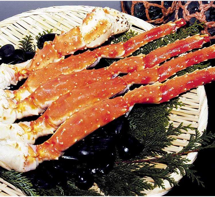 蟹商のタラバガニ脚